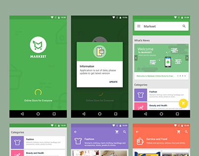 Markeet - Android Online Store Template