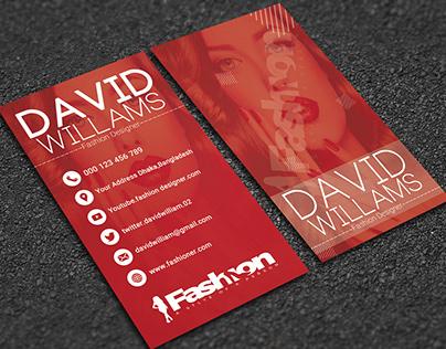 Fashion Show Card Design