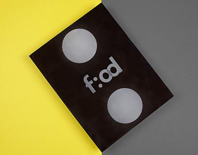 Experiencing Food Conference: Editorial Design