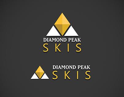 Diamond peak skis