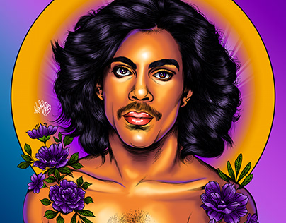 Digital Portrait: Prince