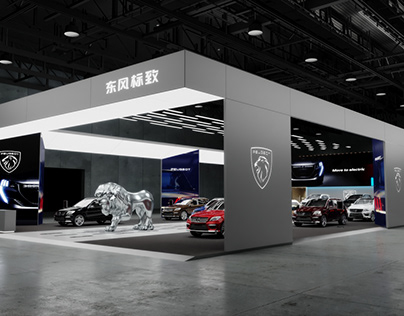 PEUGEOT Stand for AutoChina 2021