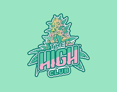Identidade visual para The High Club