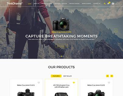 Ecommerce Website - ThinkDharma Design Study