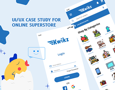 UI/UX CASE STUDY FOR ONLINE SUPERSTORE