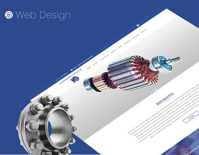 Auto mechanics Landing page - Cars Websites -WebDesign
