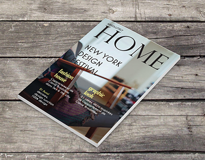 Magazine - Mise en page