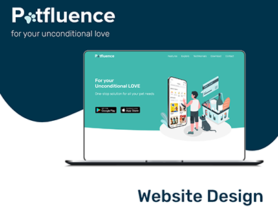 Petfluence- Website Presentation