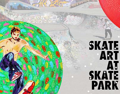 SkateArt at SkatePark