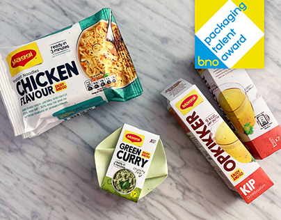 Maggi Enjoy and Go   Packaging Concept