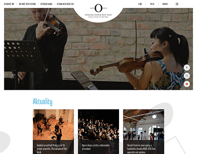 Ostrava Center for New Music - redesign