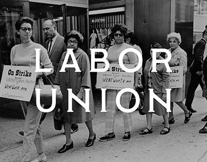Labor Union Regular - Free Font