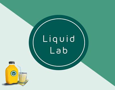 Liquid Lab: Web design