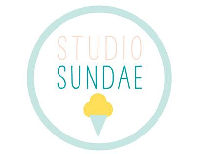 Studio Sundae branding