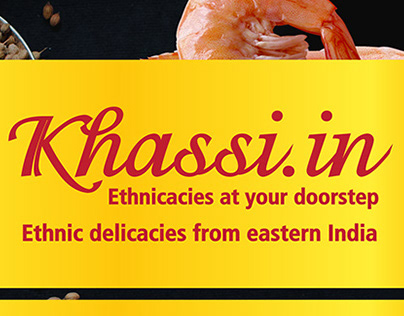 Khassi.in - branding and promotional collaterals