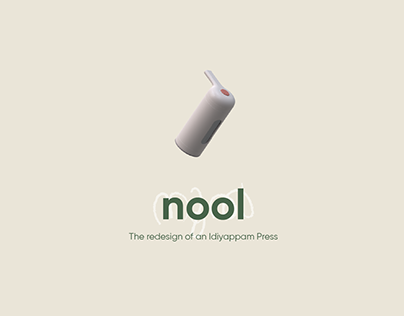 Nool - The redesign of an Idiyappam Press