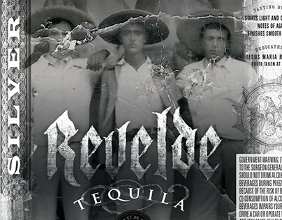 Revelde Tequila Packaging