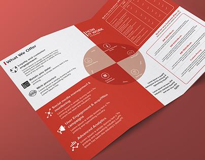 Tri-Fold Brochure (Discount App for Restaurants Salon)