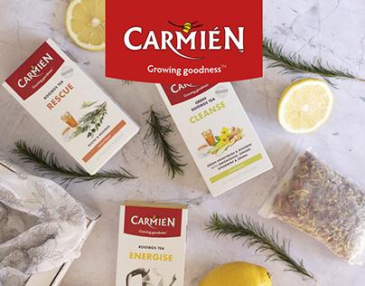 Carmién Packaging Refresh