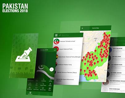 Pakistan Elections 2018 Mobile Application