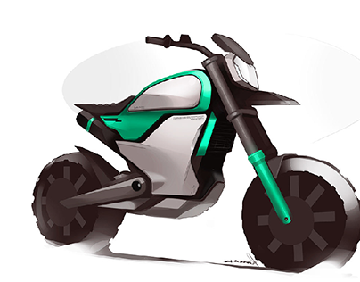 Motorcycle : sketches