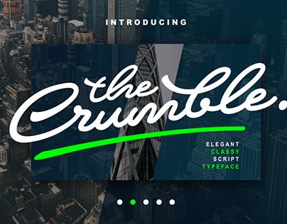 CRUMBLE - FREE COOL SCRIPT FONT