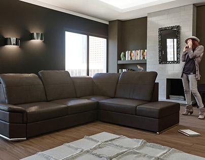 Sofa - corner