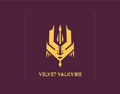 Velvet Valkyrie - Logo Design