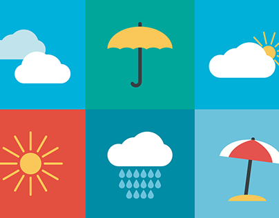 Collection Of Weather Icons | FREE DOWNLOAD