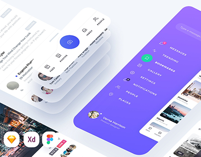 25+ UI Kits for Designers to Speed up Your Work Flow