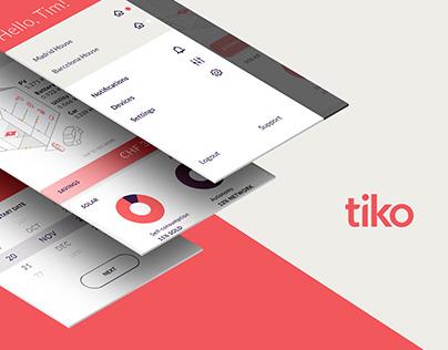 Tiko • Smart house app