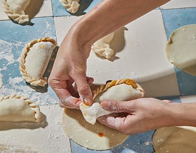 The process of empanadas