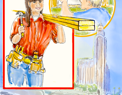 People In Your Neighborhood Illustrations