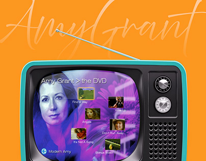 Amy Grant DVD Navigation UI