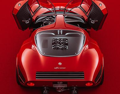 Lady In Red (Alfa Romeo 33)