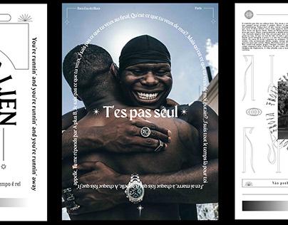 Posters - Black Alien /Matue /Froid /Baco exu do blues