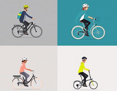 B'TWIN /// Les Français, le vélo et la sécurité...