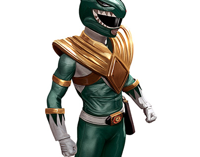 Green Ranger (Speed painting video)
