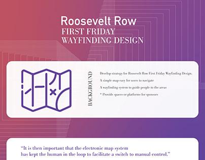 First Friday Wayfinding Design