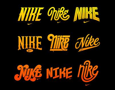NIKE - Logotype Concepts