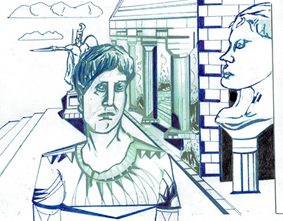 Self-Portrait as Nero