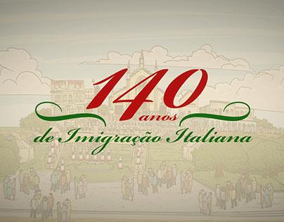 Projeto RBS: 140 anos da Imigração Italiana.