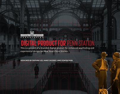 Digital Product for Penn Station