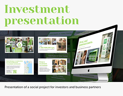 Presentation for a social project