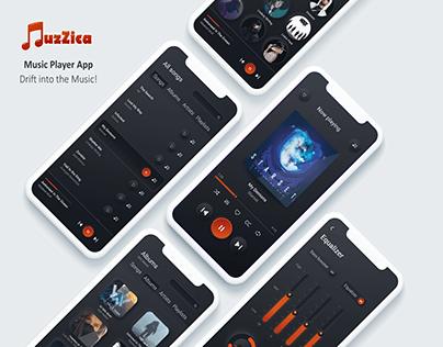 Music player App ux/ui