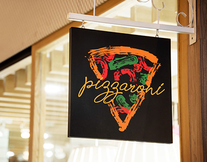Pizzaroni - Pizza Branding