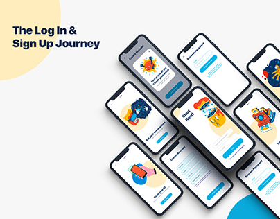 The Log In & Sign Up Journey