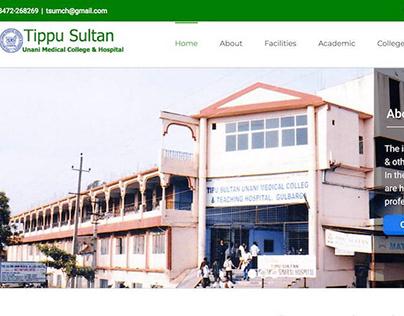 Tipu sultan college Academic Website