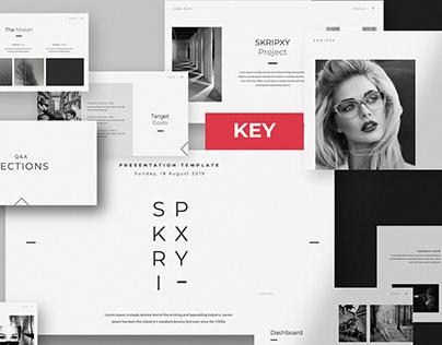 SKRIPXY Clean Keynote Template By:RitsBoys