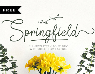 FREE | Springfield Font